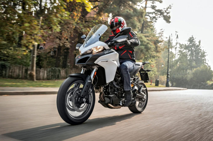 Ducati Multistrada 950 S Red Touring Pack